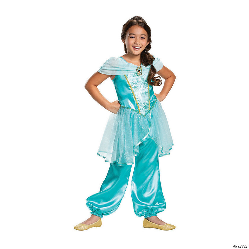 Girl's Classic Aladdin™ Live Action Jasmine Costume Audio Thumbnail
