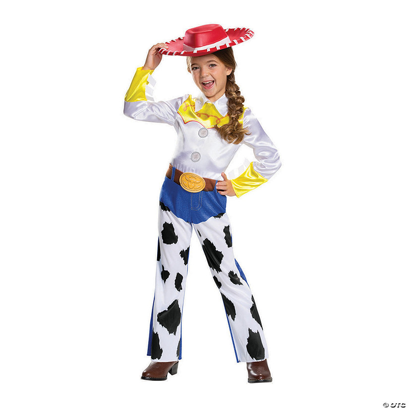 Girl's Classic Toy Story 4™ Jessie Costume Audio Thumbnail
