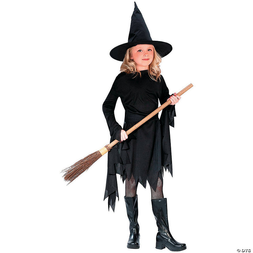 Girl S Classic Witch Costume Oriental Trading