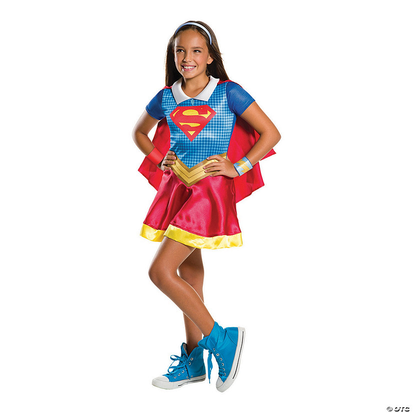 Girl's DC™ Superhero Girls Supergirl Costume Audio Thumbnail