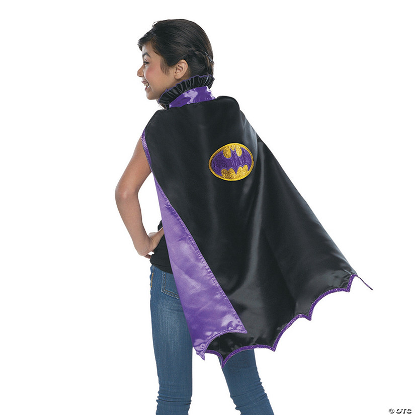Girls' Deluxe Batgirl™ Cape Audio Thumbnail