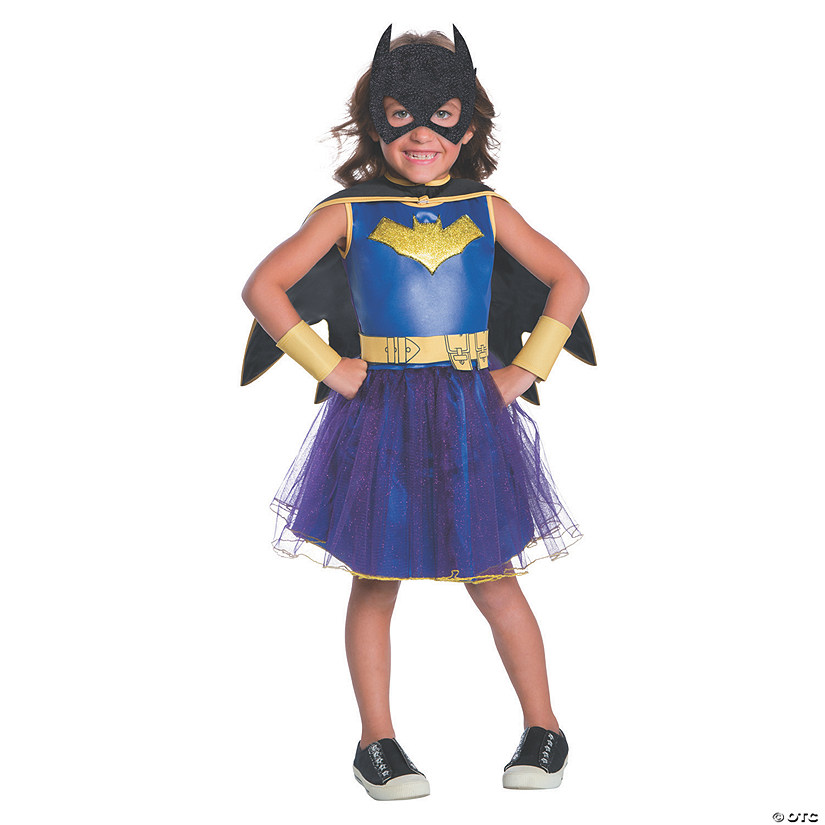Girl's Deluxe Batman: Classic Batman™ Batgirl Costume Audio Thumbnail