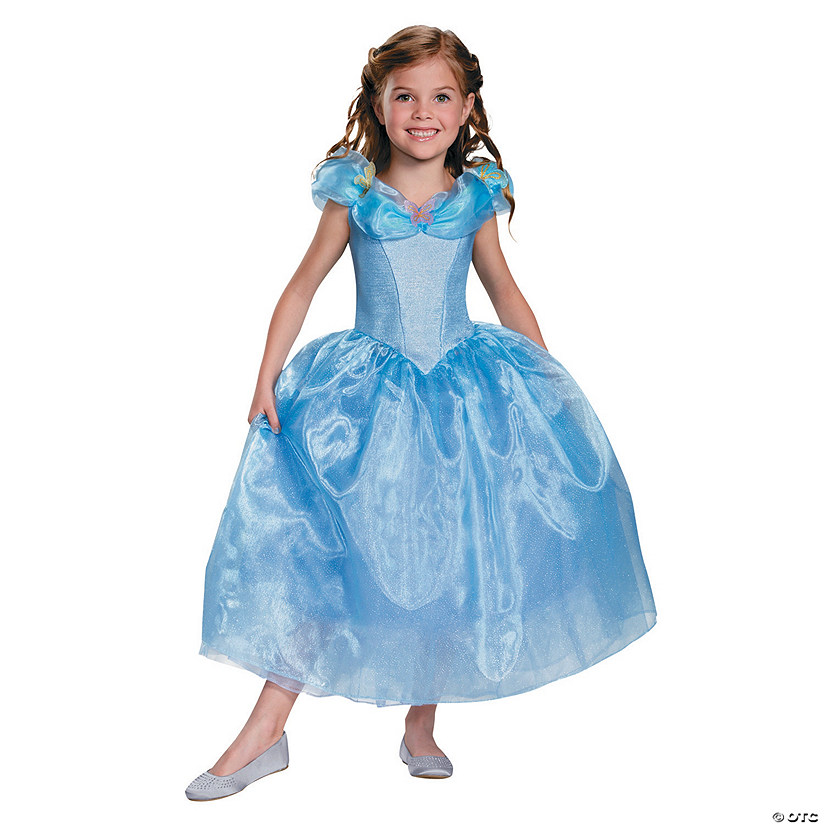 Girl's Deluxe Cinderella Movie Costume Audio Thumbnail