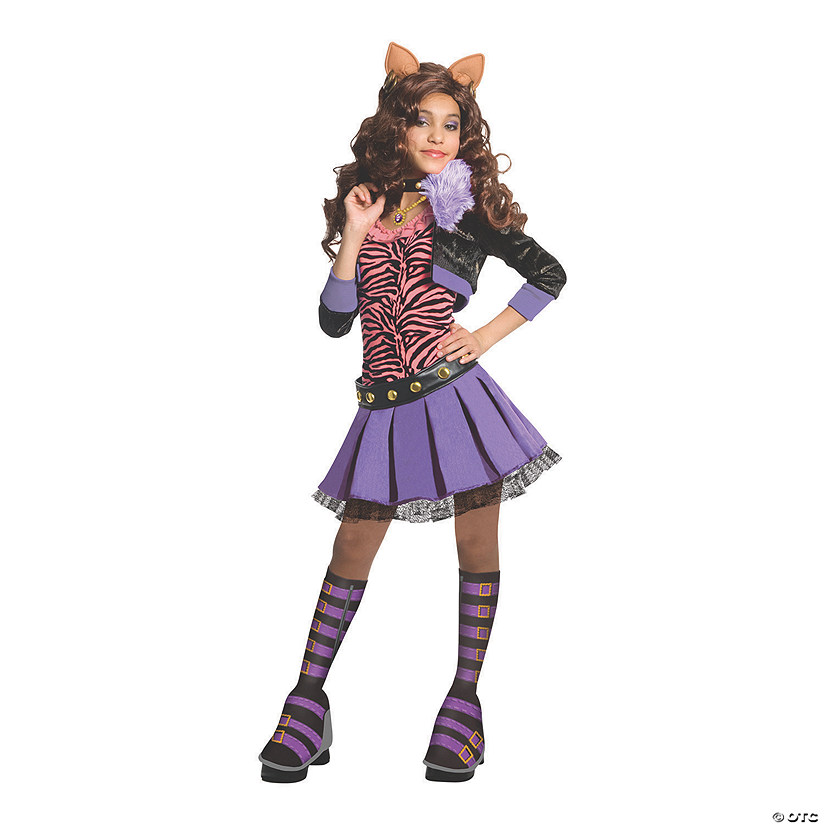 Girl's Deluxe Clawdeen Wolf Costume