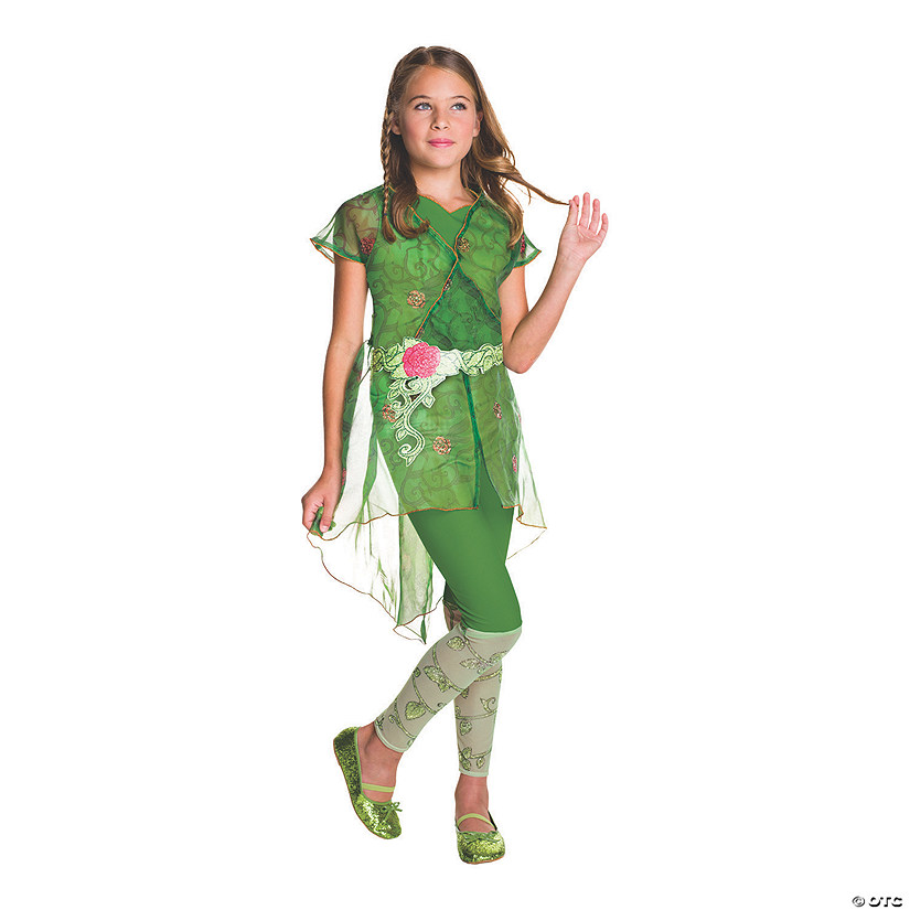 Girl's Deluxe DC™ Superhero Girls Poison Ivy Costume Audio Thumbnail
