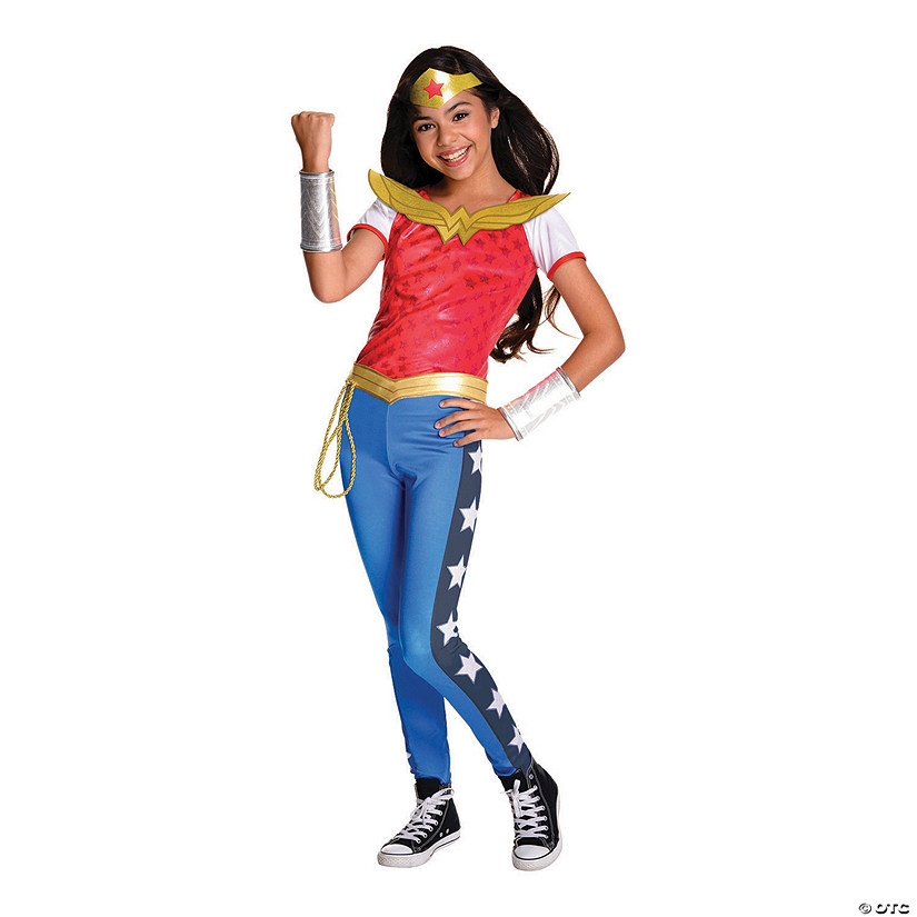 Girl's Deluxe DC™ Superhero Girls Wonder Woman Costume