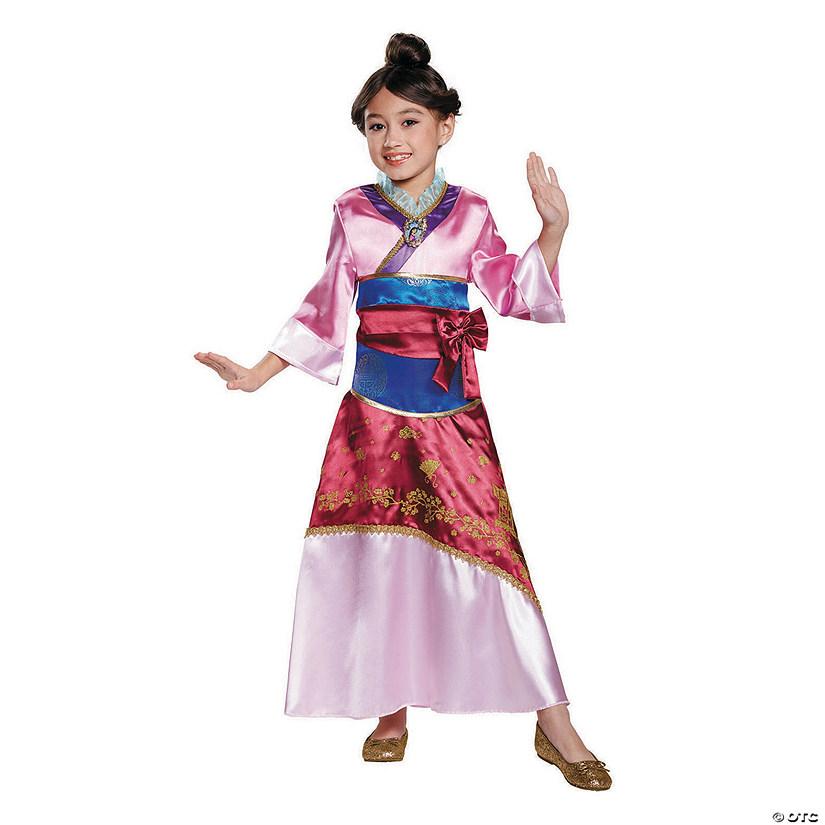 Girl S Deluxe Disney Mulan Costume Oriental Trading