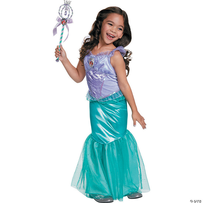 Girl's Deluxe Disney's The Little Mermaid™ Ariel Costume Audio Thumbnail