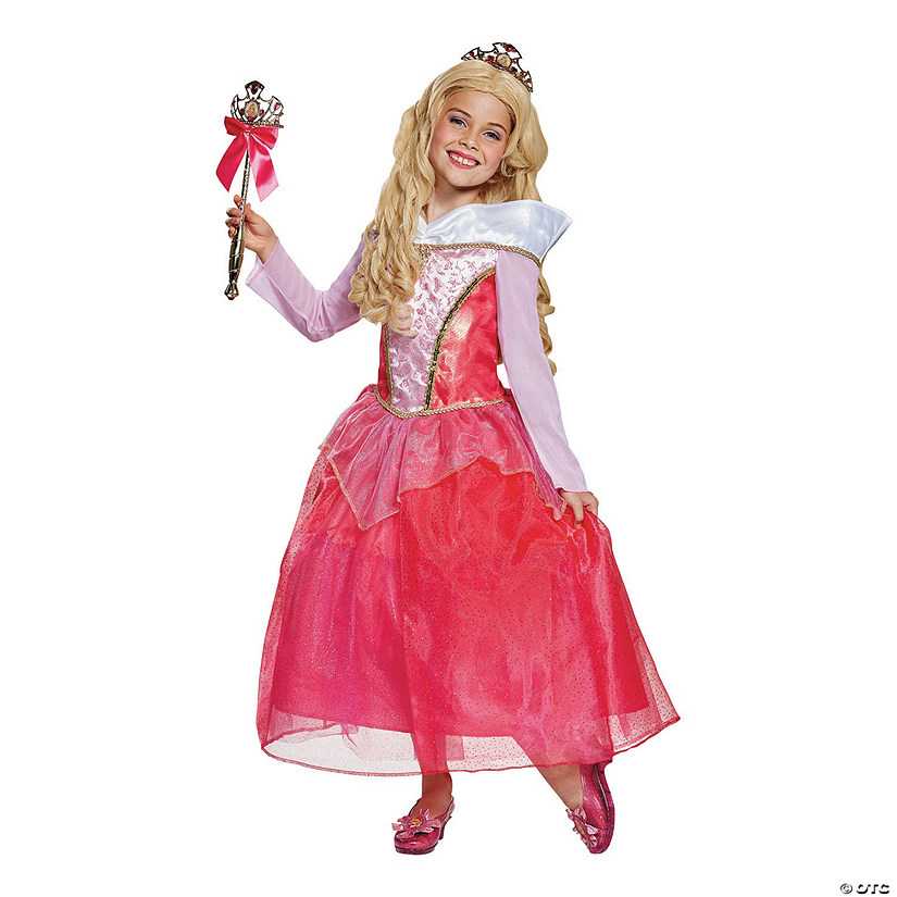 Girl's Deluxe Sleeping Beauty™ Aurora Costume Audio Thumbnail