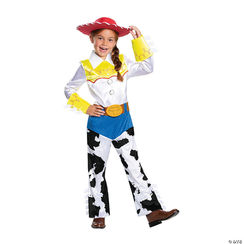 Toy Story 4 Halloween Costumes.Girl S Deluxe Toy Story 4 Jessie Costume