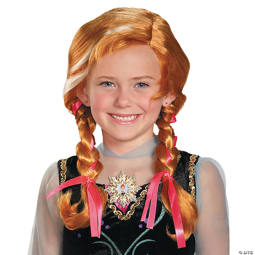 Girl's Disney's Frozen Anna Wig Audio Thumbnail