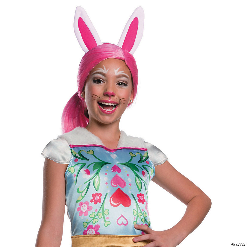 Girl's Enchantimals™ Bree Bunny Wig with Ears Image Thumbnail