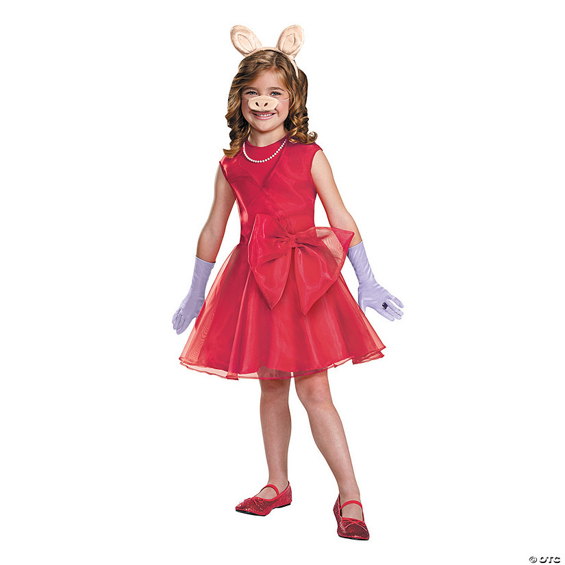 Girl's Miss Piggy Costume - Medium