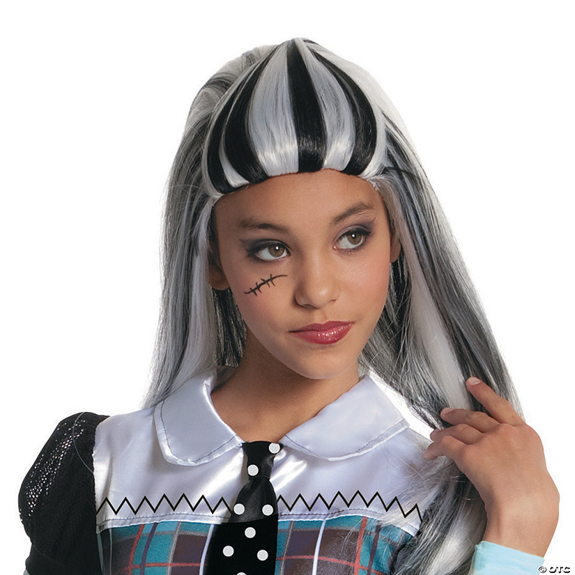 Girl's Monster High™ Frankie Stein Wig Audio Thumbnail