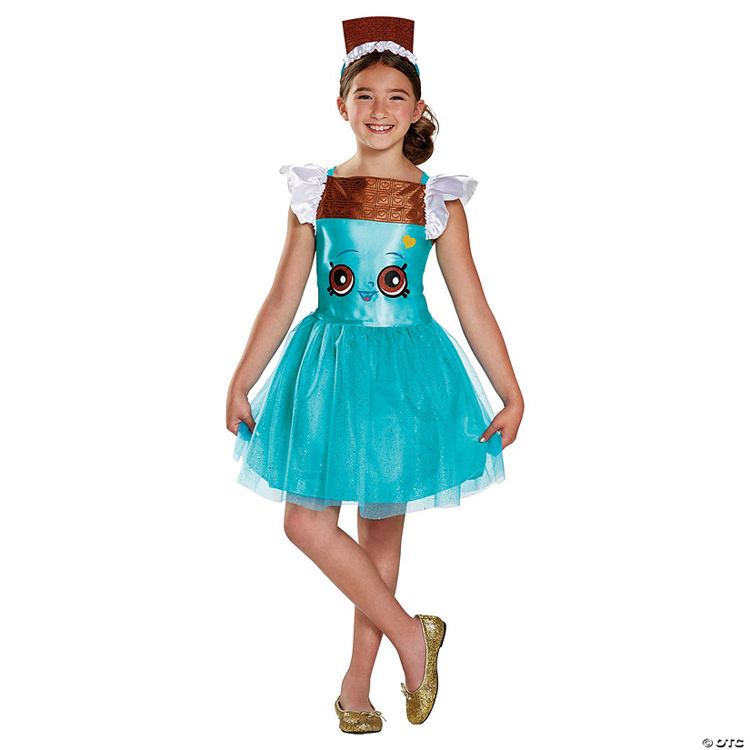 Girl's Shopkins™ Cheeky Chocolate Classic Costume