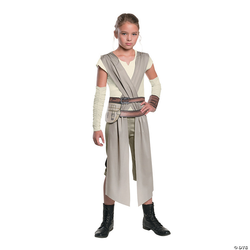 Girl's Star Wars: The Force Awakens™ Rey Costume Audio Thumbnail