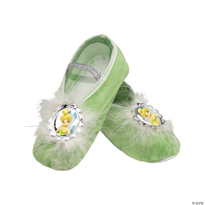 Girl's Tinker Bell Ballet Slippers Audio Thumbnail