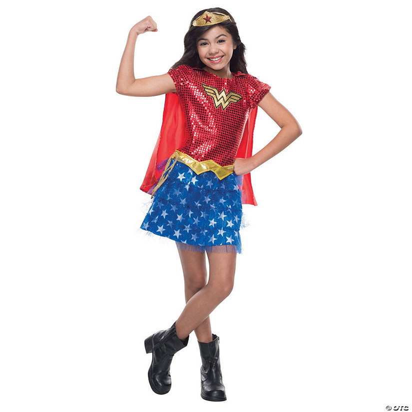Girl's Wonder Woman™ Tutu Dress Costume
