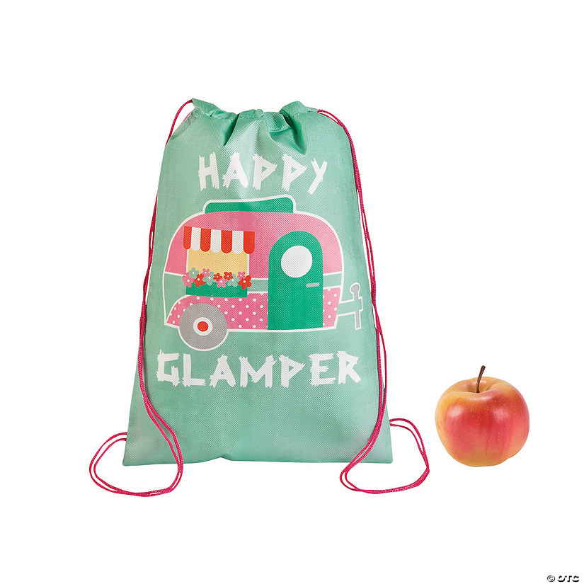 Glam Camp Drawstring Backpacks
