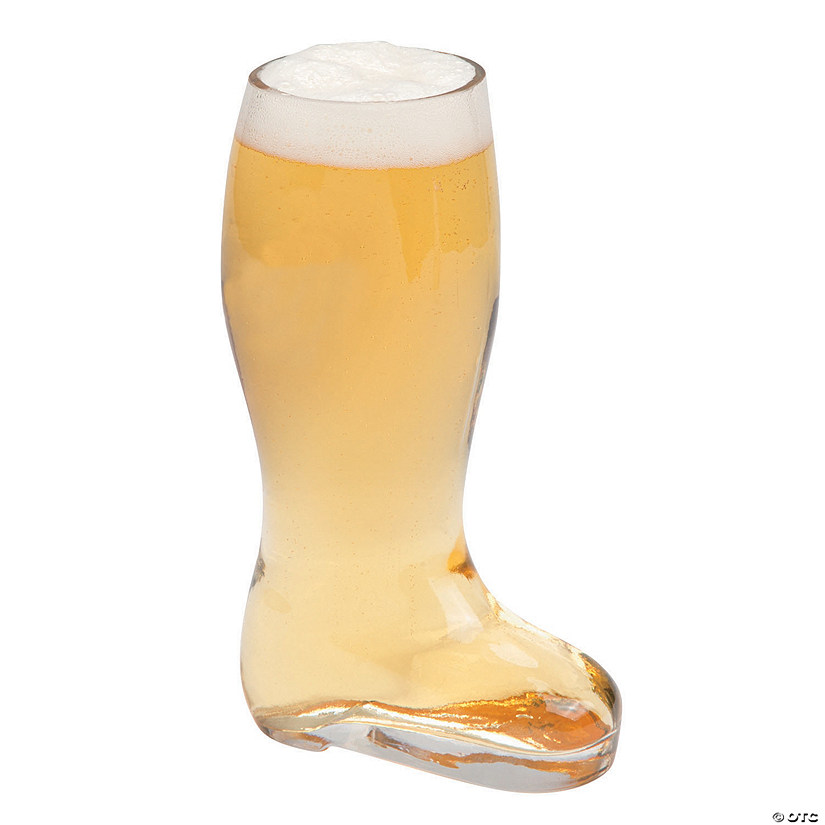 Glass Boot Tumbler