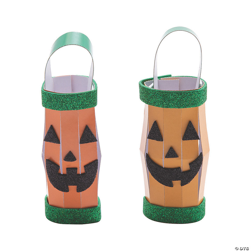 Glitter Jack-O'-Lantern Craft Kit Image Thumbnail
