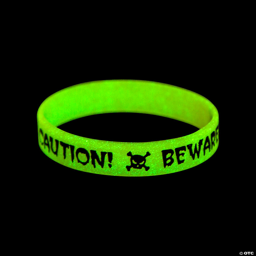 Glow-in-the-Dark Halloween Skull Bracelets Audio Thumbnail