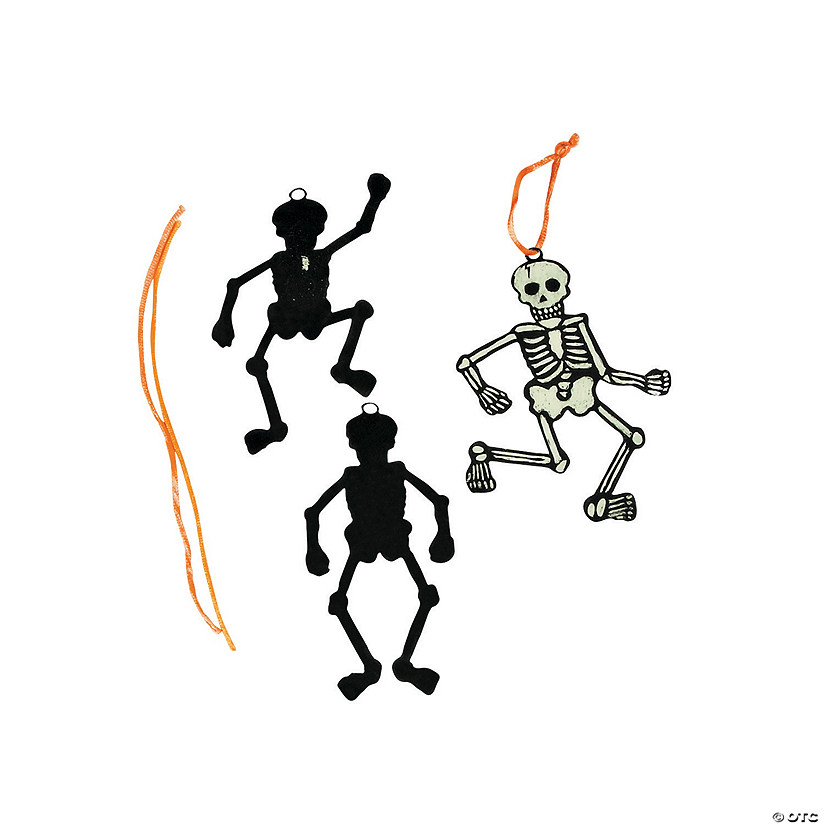 Glow-in-the-Dark Magic Color Scratch Skeleton Ornaments Audio Thumbnail