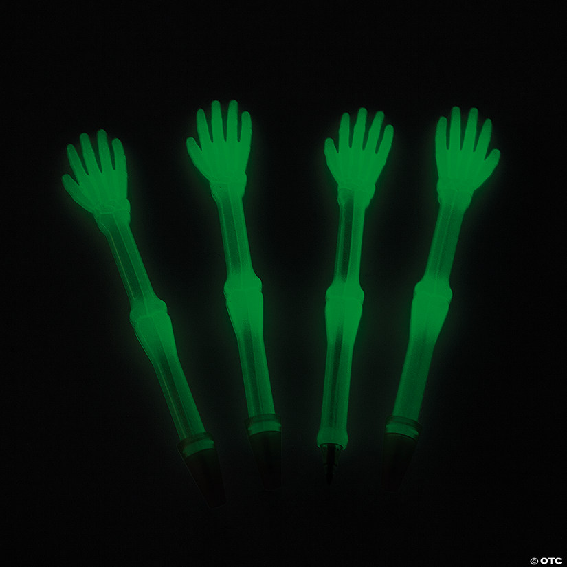 Glow-in-the-Dark Skeleton Hand Pens Audio Thumbnail