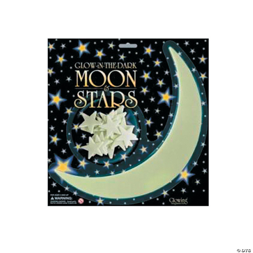 Glow-In-The-Dark Stars Wall Decorations