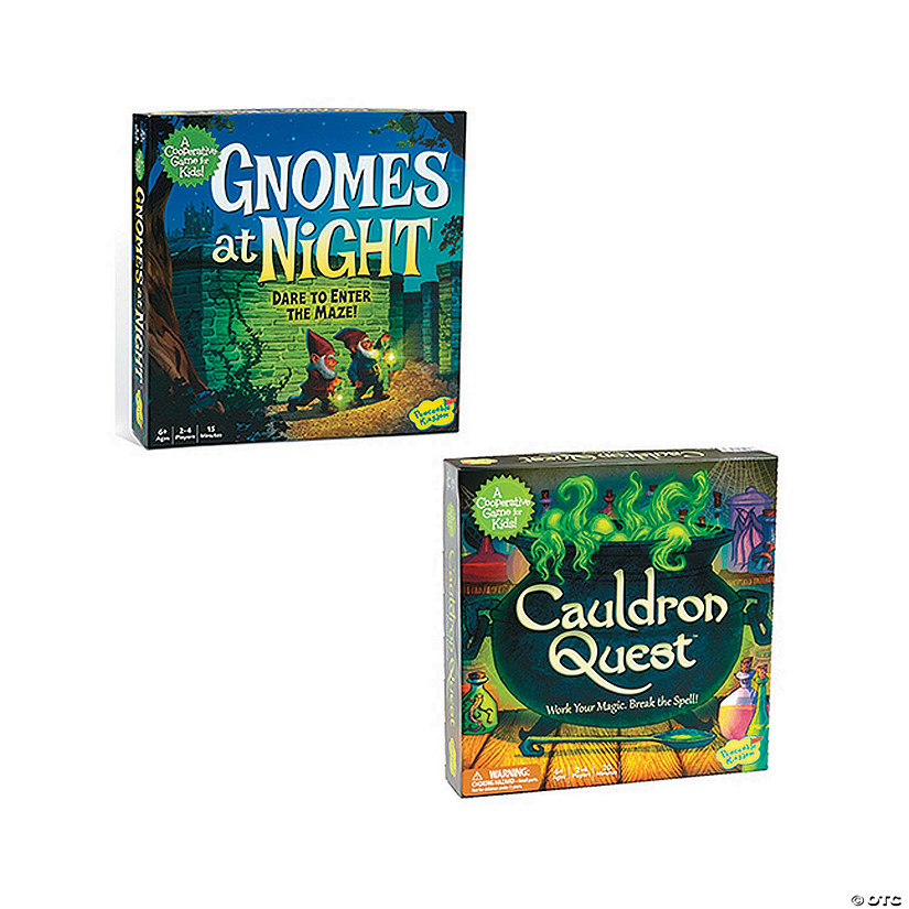 Gnomes at Night and Cauldron Quest: Set of 2 Audio Thumbnail