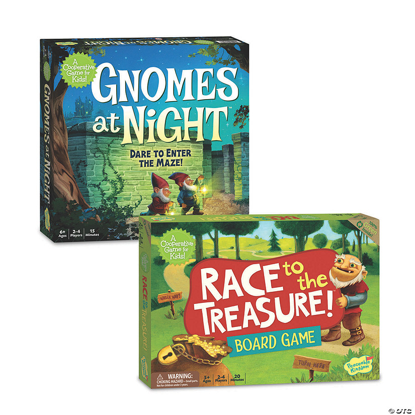Gnomes At Night and Race to the Treasure: Set of 2 Audio Thumbnail