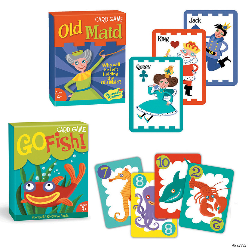 Go Fish and Old Maid: Set of 2  Image Thumbnail