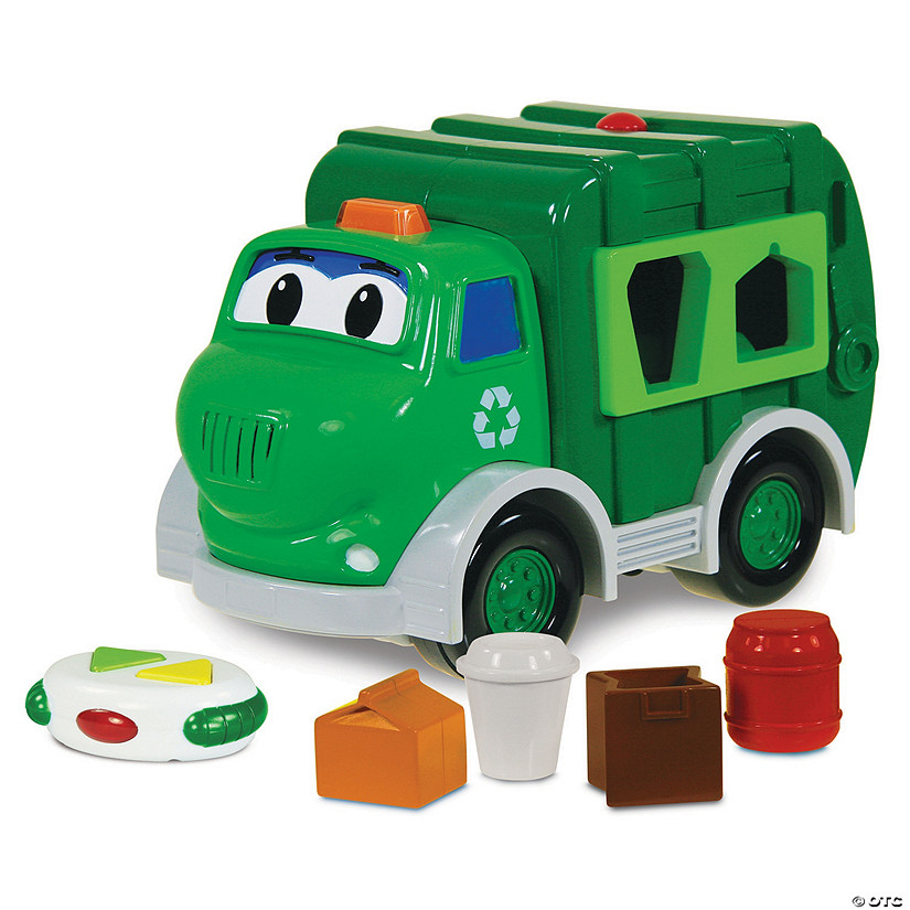 Go Green Recycle Truck