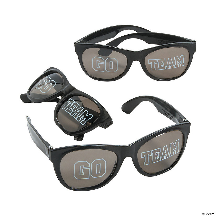 Go Team Black Sunglasses - 12 Pc. Audio Thumbnail