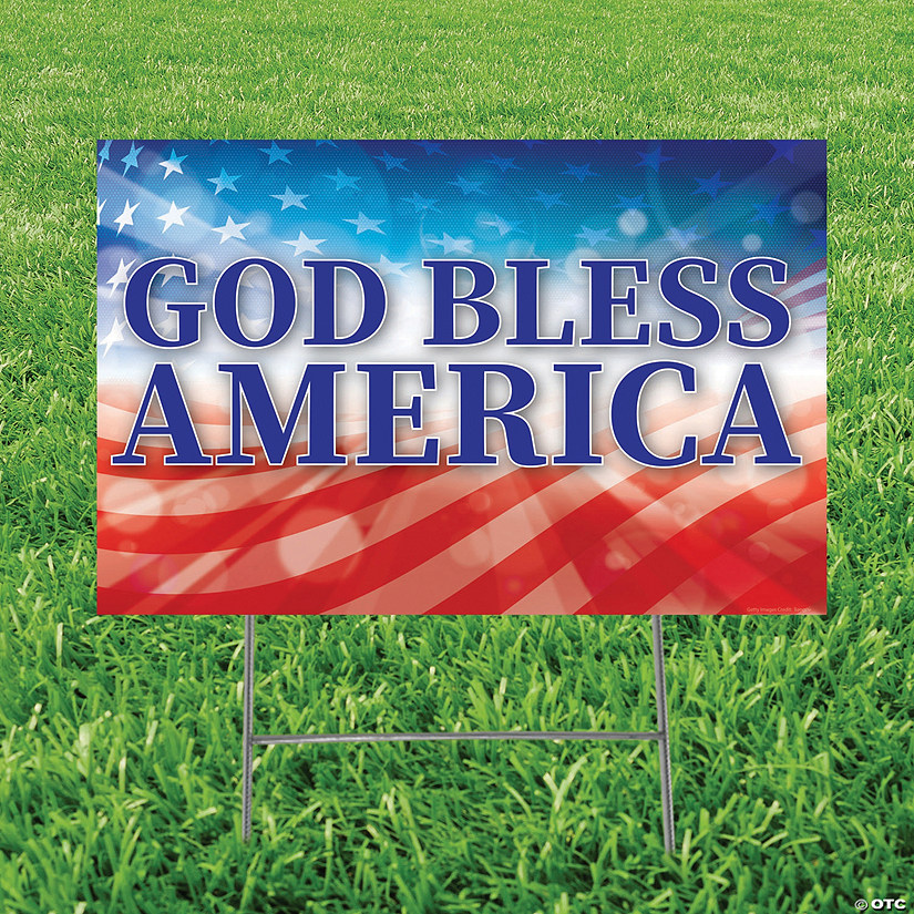 God Bless America Yard Sign Audio Thumbnail