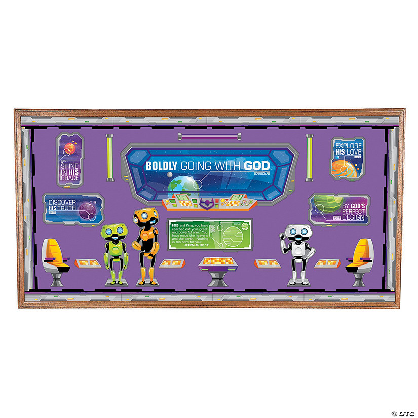 God's Galaxy VBS Bulletin Board Set