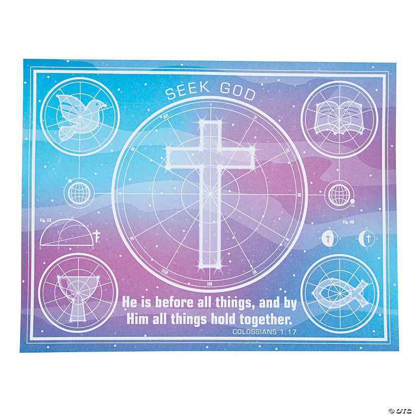 God's Galaxy VBS Constellation Maps