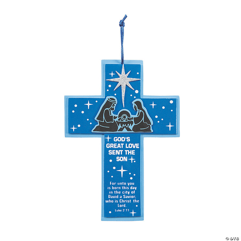 God's Great Love Nativity Sign Craft Kit