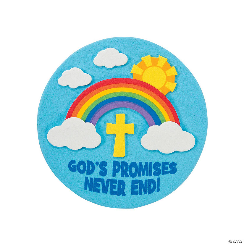 God's Promises Never End Magnet Craft Kit Audio Thumbnail