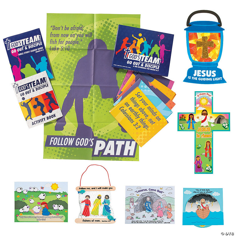 God's Team Complete VBS Kit with Curriculum Image Thumbnail