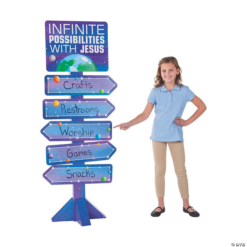 God's Galaxy VBS Directional Sign Audio Thumbnail