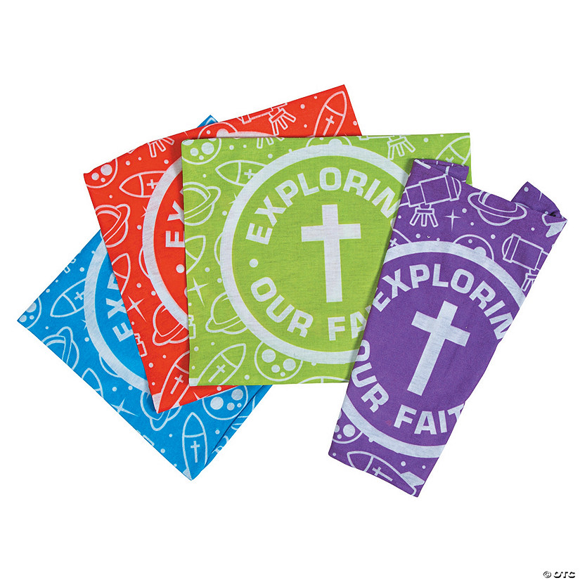 God's Galaxy VBS Tube Bandanas