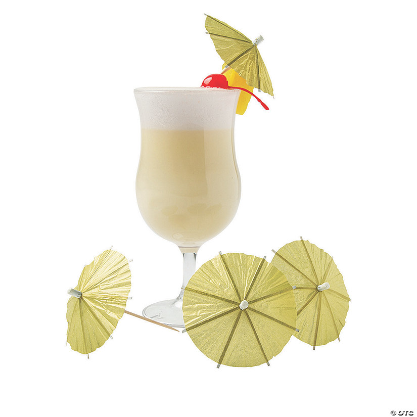 Gold Cocktail Parasols Audio Thumbnail