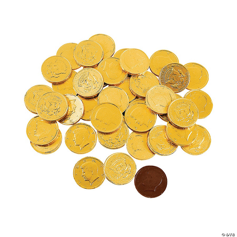 Gold Coins Chocolate Candy Image Thumbnail