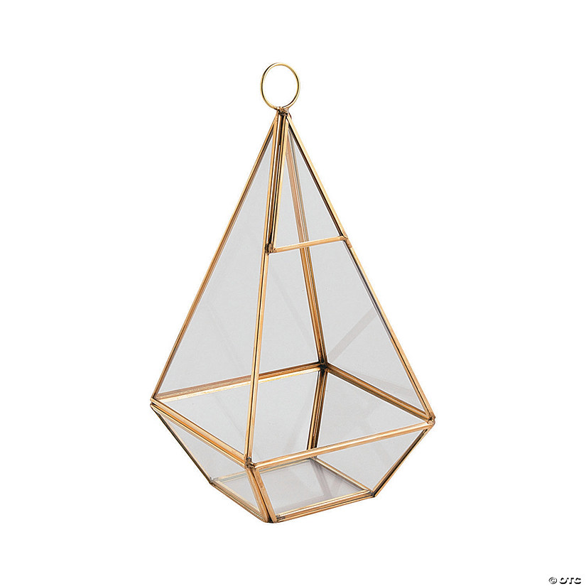 Gold Geometric Hanging Terrarium Audio Thumbnail