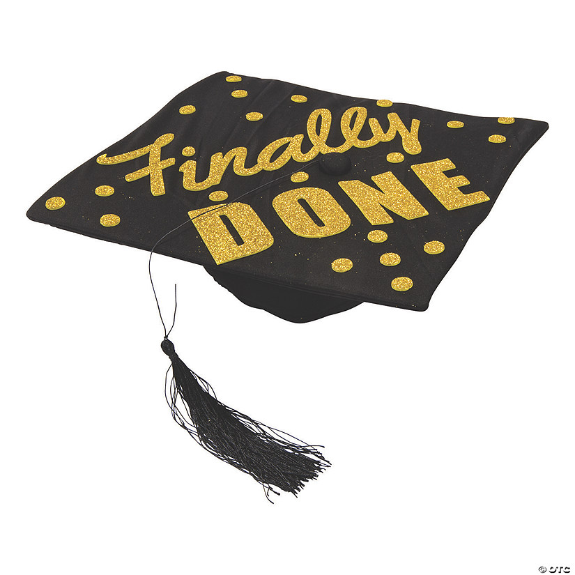 Gold Glitter Mortarboard Decorating Kit Audio Thumbnail