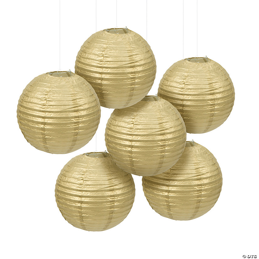 Gold Hanging Paper Lanterns Audio Thumbnail