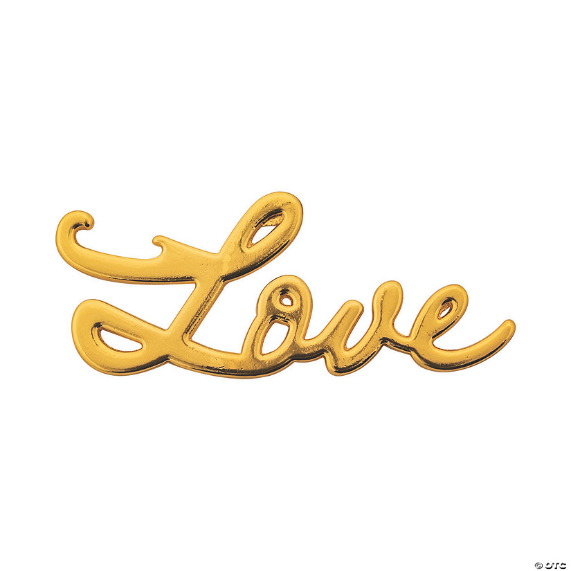 Gold Love Script Bottle Openers Audio Thumbnail