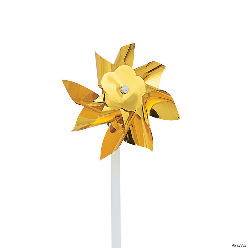 Gold Metallic Pinwheels Audio Thumbnail