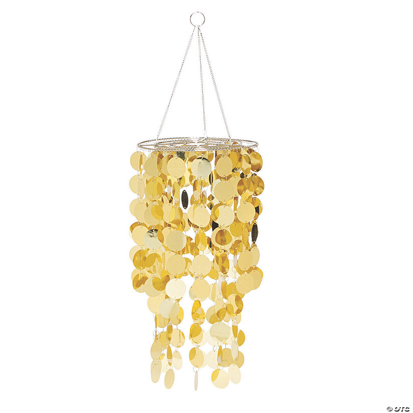 Gold Reflective Hanging Chandelier Audio Thumbnail
